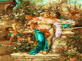 دختر باغبان و فرشته ها