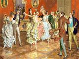 مهمانی و رقص اشرافی