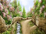 بهار در دهکده گلی