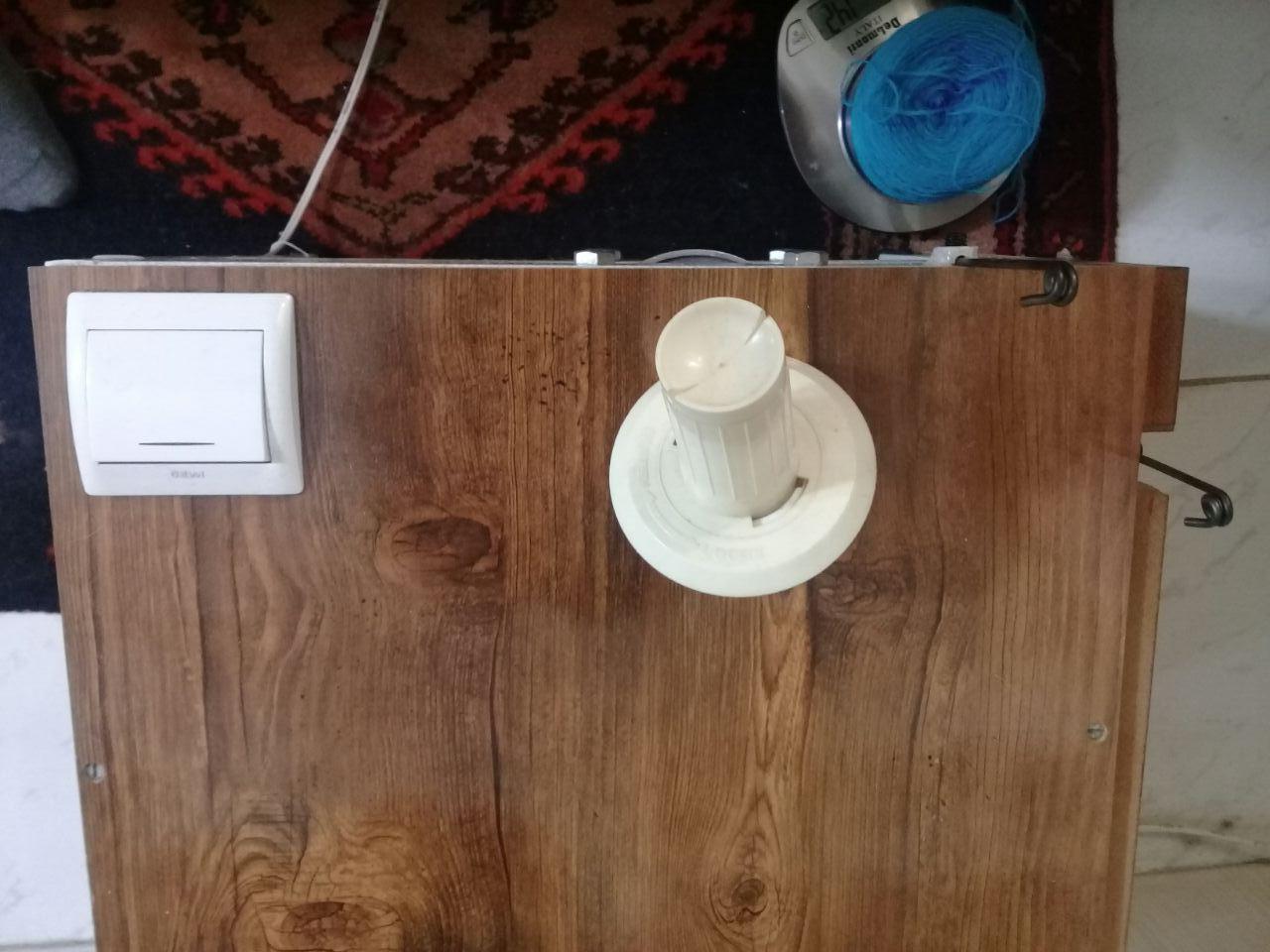 دستگاه توپک کن نخ و کاموا